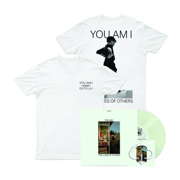 Spearmint Leaf Vinyl LP  + Stereo Kid T-shirt + Lives of Others Digital Download