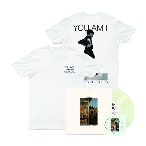 Pinot Gris Coloured Vinyl + Stereo Kid T-shirt + The Lives of Others Digital Download