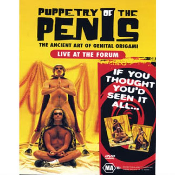 """Puppetry of the Penis: Live at The Forum"" DVD (PAL)"