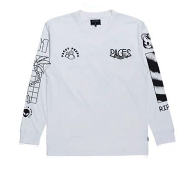 Savage White Longsleeve Tshirt