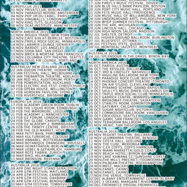 Poster Limit Of Love Tour 2015-2017 (Limited to 100)