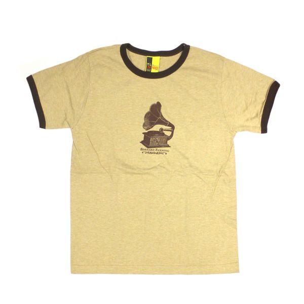 Gramophone Light Brown Ladies Tee