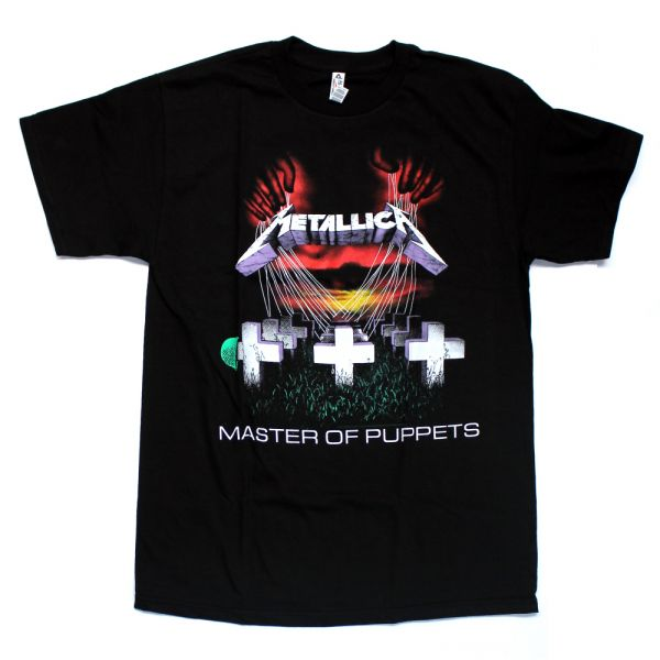 Master Of Puppets Black Tshirt