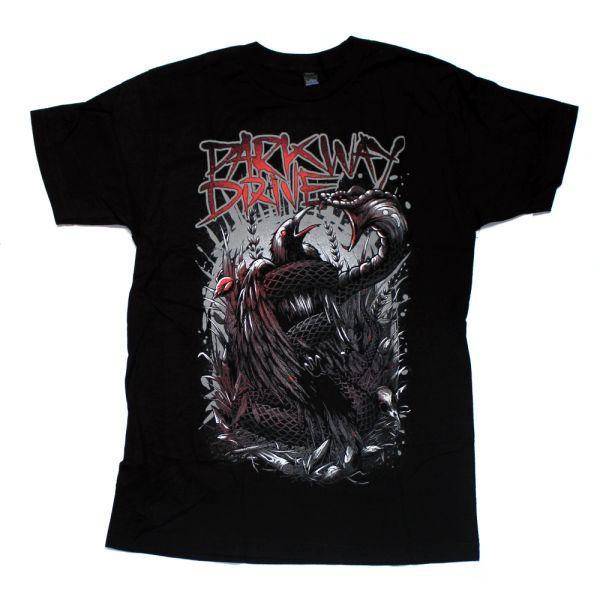 Snake Crow Black Tshirt
