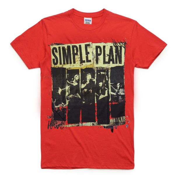 Red Australian Tour 2012 Tshirt