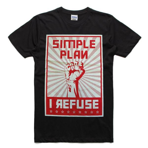 Refuse Black Tshirt