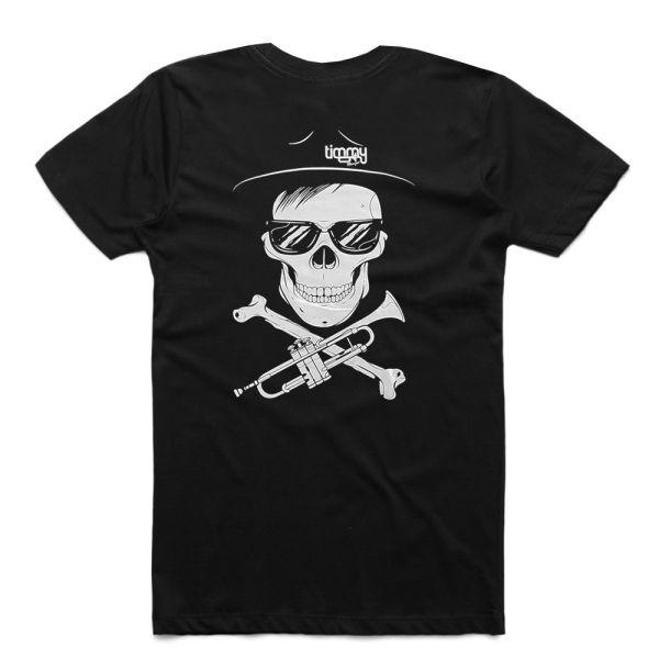 Skull Black Tee