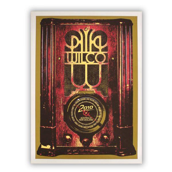 Wilco 2010 Australia/NZ Lithograph